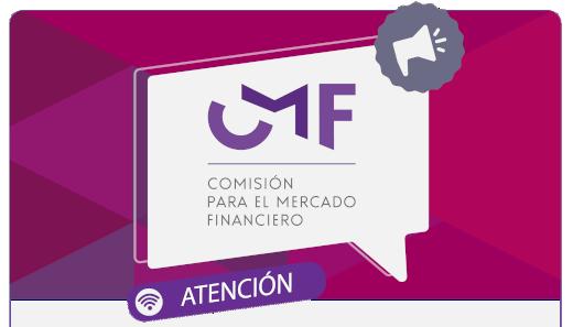 Aviso: Cómo estar en contacto con la CMF